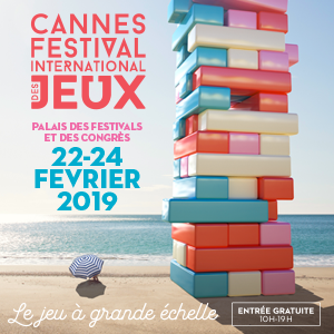 Cannes Festival International des jeux 2019