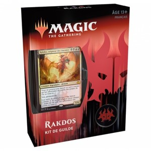 Magic The Gathering -  Allégeance de Ravnica Kit de Guildes : Rakdos