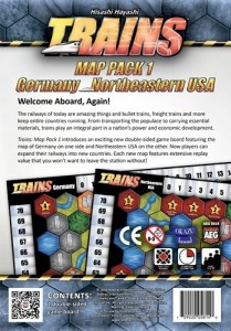 Trains : Map Pack 1 – Germany/Northeastern USA