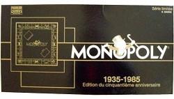Monopoly - Edition du cinquantième anniversaire 1935-1985
