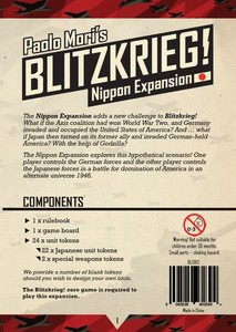 Blitzkrieg!: Nippon Expansion