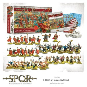 SPQR Clash Of Heroes