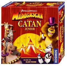 Catan Junior - Madagascar (Dreamworks)