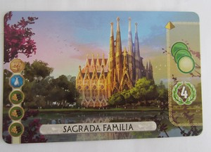7 Wonders Duel : Sagrada Familia