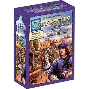 Carcassonne - extension 6 : Comte, roi & brigand