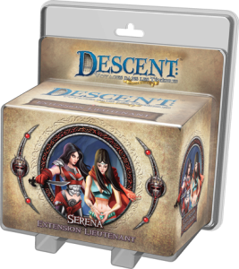 Descent : Voyages dans les Tenebres ! - Pack Lieutenant Serena