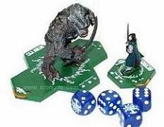 Lord of the Ring Le jeu de figurines à collectionner : Le Troll du Mordor