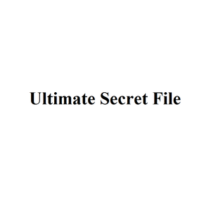 Ultimate Secret File