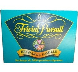Trivial Pursuit : Recharge Famille
