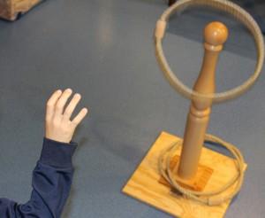 quille et anneaux à lancer