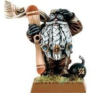Warhammer : Grombrindal le nain blanc (pilote de gyrochasseur)