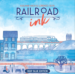 Railroad Ink - Deep Blue Edition