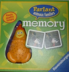 Memory Parlant animaux familiers