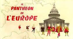 Le panthéon de l'Europe