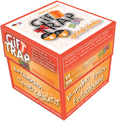 Gift Trap Mini : Orange