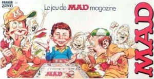 LE JEU MAD MAGAZINE