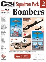 Down in Flames Squadron Pack #2 : Bombers