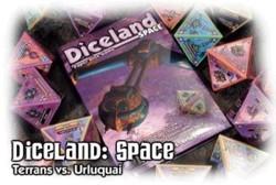 Diceland Space : Terrans Vs. Urluquai