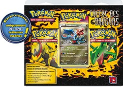 Pokemon JCC : Noir & Blanc- Dragons Exaltés - Pack Coffre des Dragons