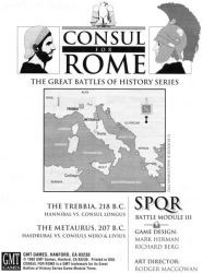SPQR : Consul for Rome