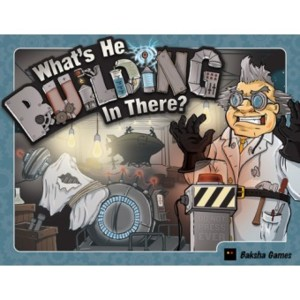 What is he building in there ?
