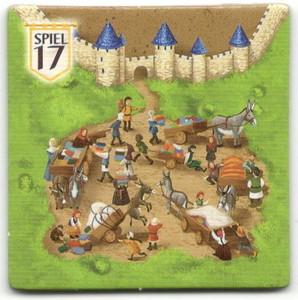 """Carcassonne - Tuile bonus """"Essen Spiel 2017"""""""