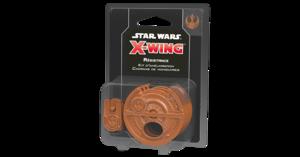 Star Wars : X-Wing 2.0 - Kit d'amélioration Cadrans de manoeuvres Résistance