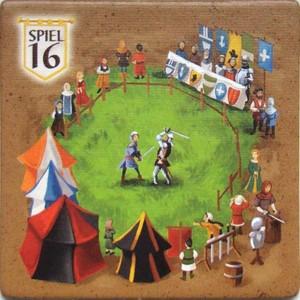 """Carcassonne - Tyuile bonus """"Essen Spiel 2016"""""""