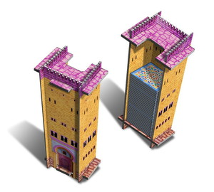 "Alhambra - Extension ""Acrylic Tiles Dispenser Tower"""