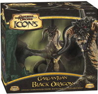 Dungeons & Dragons Miniatures : Gargantuan Black Dragon