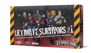 Zombicide : Ultimate Survivors & Experience cards
