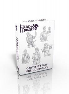 Héros & Dragons - Cartes d'états préjudiciables
