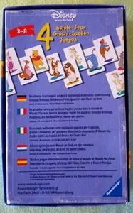 Disney Winnie The Pooh 4 jeux