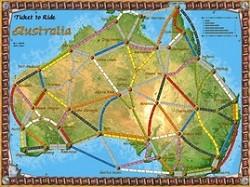 Les Aventuriers du Rail : Extension Australie