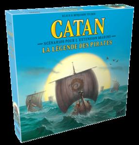 Les Colons de Catane : Marins : La Légende des Pirates