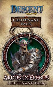 Descent: Voyages dans les Ténèbres (Seconde edition) – Lieutenant Ardus Lx Erebus