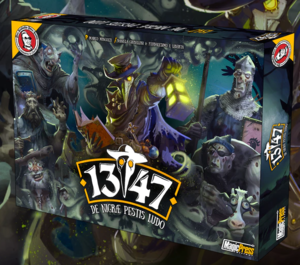 1347 - The Black Plague Boardgame