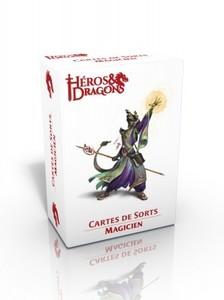 Héros & Dragons - Cartes de sorts - Magicien