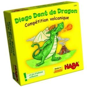 Diego Dent de Dragon - Compétition volcanique