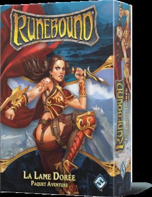 Runebound 3ème édition, La lame dorée