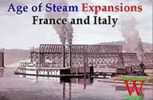 Age of Steam : Expansions France & Italy