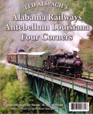 Age of Steam: Alabama Railways - Antebellum Louisiana - Four Corners