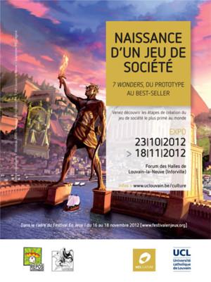 Une Expo 7 Wonders à Louvain la Neuve et ailleurs
