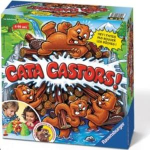 Jeux de société Ravensburger Cata Castors  La Minuté Bébé