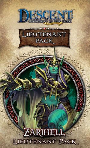 Descent: Voyages dans les Ténèbres (Seconde edition) – Lieutenant Zarihell
