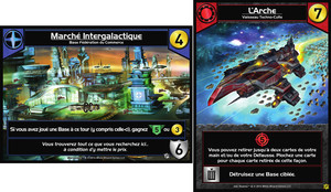 "Star Realms : Promo Set ""Marché Intergalactique & L'Arche"""
