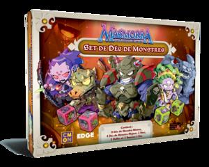 Masmorra : Les Donjons d'Arcadia - Set des dés monstres