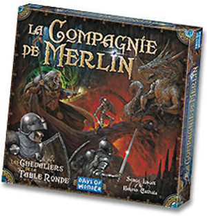Les chevaliers de la table ronde la compagnie de merlin - Jeu de societe les chevaliers de la table ronde ...