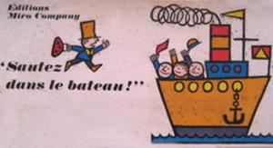 Sautez dans le bateau