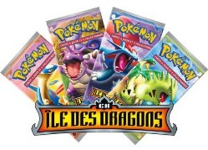 Pokemon JCC : EX Ile des dragons